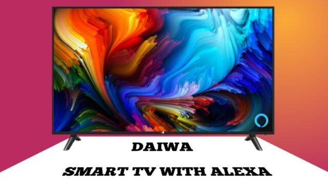 DAIWA UHD 4K LED Smart tv.