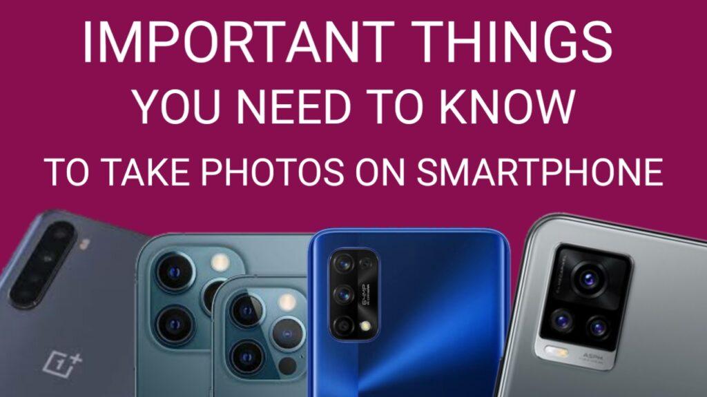 smartphone camera mode