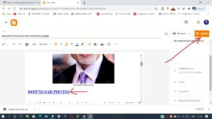 How to Add Direct Download Link in Blogger Blog Post